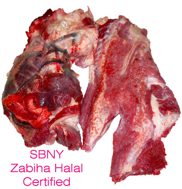 Zabiha Halal Beef Head Meat